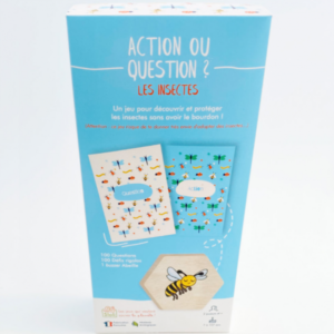 Jeu nature sur les insectes : action ou question?