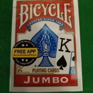 Cartes Bicycle Jumbo 54 cartes