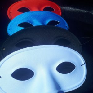 Masque domino adulte