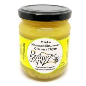 Miel citron thym normand artisanal 250g