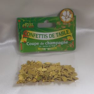 Confettis de table Coupe de champagne