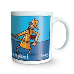 Mug Heula En normandie, on a la pêche !